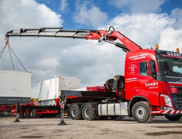 Our latest equipment - our new HIAB lorry