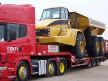 Caterpillar wide load