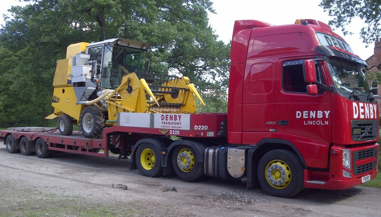 Tractor Transport Services | Farming equipment transport | Denby ...