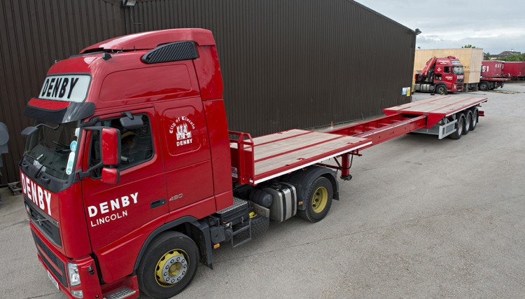 Heavy Haulage - Extendable operation