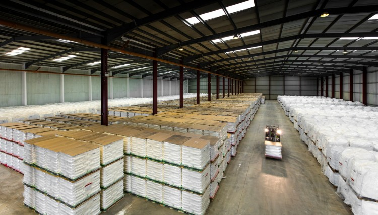 Warehouse management - full palletised storage