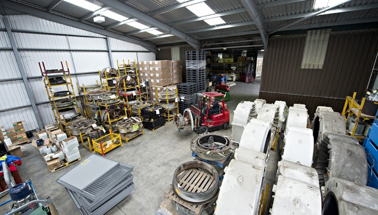 Warehouse storage - varied range of items in store