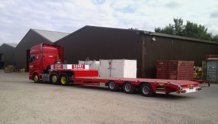 We have various Broshuis trailers for heavy loads