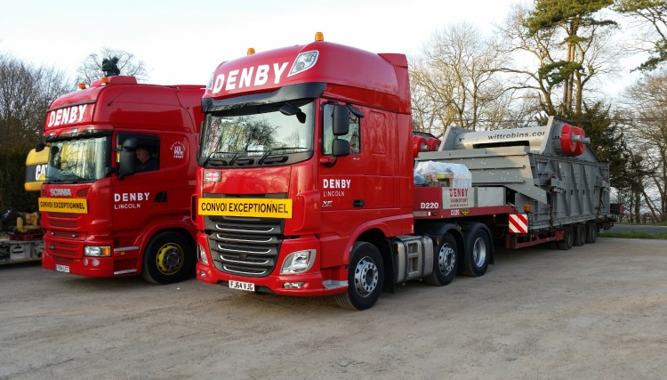 Abnormal loads - quarry machinery