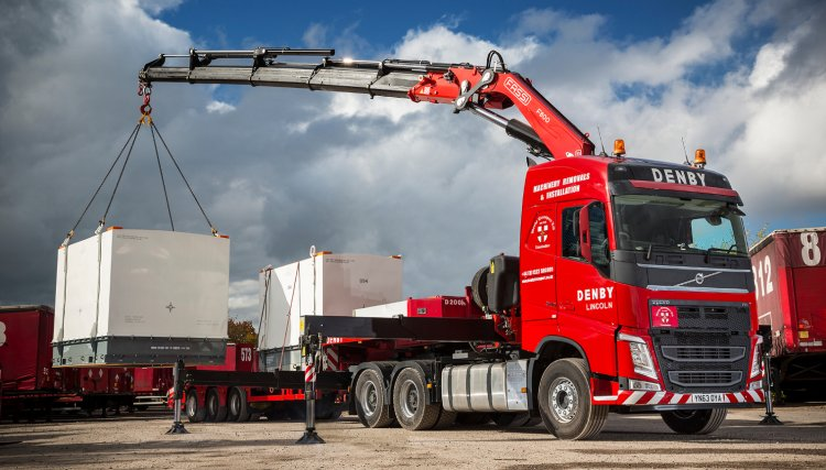 Special Projects Crane Hire Denby Transport Limited